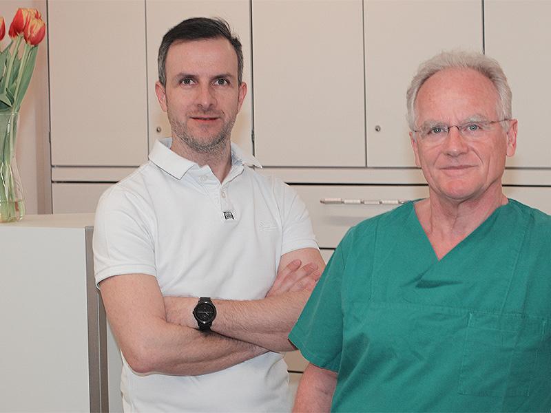 HNO Ärzte Michael Schneider und Nikolaus Märtz